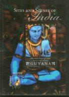 Guyana 2011 Lord Shiva India Tourism Hindu Mythology God Sc 4069 M/s MNH # 5979 - Hinduism