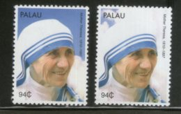Palau 2010 Mother Teresa Of India Nobel Prize Winner Sc 1011 MNH # 1257 - Mother Teresa