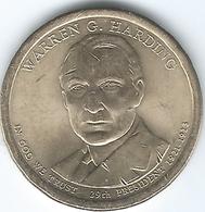 United States - Dollar - 2014 P - Warren G. Harding - KM571 - EDICIONES FEDERALES