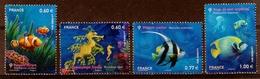 2012  N° 4646 à 4649  SERIE COMPLETE  Neufs** (faciale: 2.97€) - Nuovi