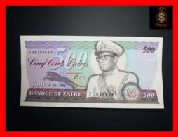 ZAIRE 500 Zaires 14.10.1985 P. 30 B  UNC- - Zaire