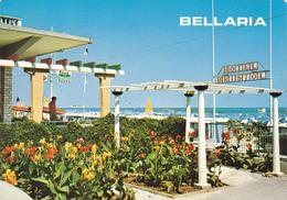 BELLARIA IGEA MARINA - RIMINI - HOTEL BRISTOL - INSEGNA PUBBLICITARIA BIRRA ITALA PILSEN - 1970 - Rimini
