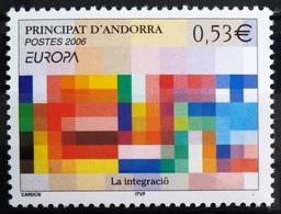 EUROPA        ANNEE 2006        ANDORRE Français         N° 627           NEUF** - Europa-CEPT