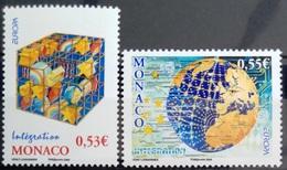 EUROPA        ANNEE 2006        MONACO         N° 2542/2543           NEUF** - Europa-CEPT