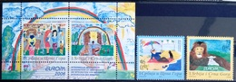 EUROPA        ANNEE 2006        SERBIE ET MONTENEGRO         N° 3156/3157 + BF 66           NEUF** - Europa-CEPT