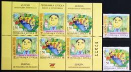 EUROPA        ANNEE 2006        REP.SERBE DE BOSNIE         N° 343/344 + C 345           NEUF** - 2006