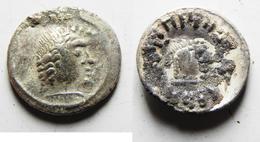 Himyarites D'Arabie, Unité D'argent De MDN BYN YHQBD Vers AD 80-100 - Orientales