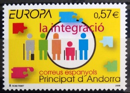 EUROPA        ANNEE 2006        ANDORRE Espagnol         N° 323           NEUF** - Europa-CEPT