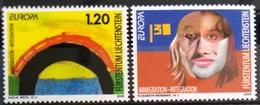 EUROPA        ANNEE 2006       LIECHTENSTEIN         N° 1341/1342           NEUF** - 2006