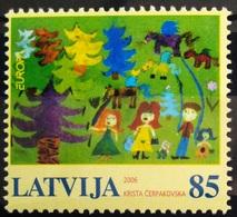 EUROPA        ANNEE 2006       LETTONIE         N° 644           NEUF** - Europa-CEPT