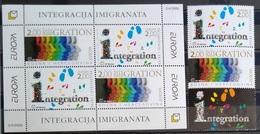 EUROPA        ANNEE 2006       HERCEG BOSNA          N° 149/150 + BF 7           NEUF** - 2006