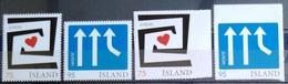 EUROPA        ANNEE 2006       ISLANDE          N° 1056/1059           NEUF** - 2006