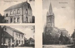 Enchenberg - Eglise, Restaurant N. Steiner, La Gare - Other Municipalities