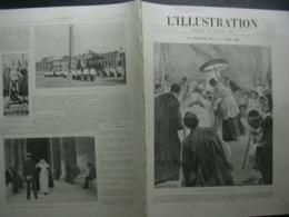 L'ILLUSTRATION N° 3151 MALADIE DE LEON XIII/ CYCLONE TONKIN/ PRESIDENT LONDRES - Journaux - Quotidiens