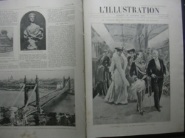 L'ILLUSTRATION N° 3164 ROIS ITALIENS EN France/ ABBAYE DE HAUTECOMBE/ BUDAPEST - Journaux - Quotidiens