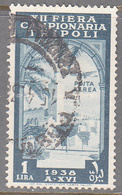LIBYA   SCOTT NO  C33    USED   YEAR  1938 - Libyen