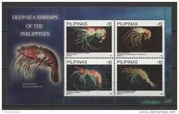 Philippines - Pilipinas (2013) - Block -  /  Marine Fauna - Shrimps - Crustáceos