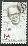 Tchechie 2019  Yv 903, Hoge Waarde,   Gestempeld - Used Stamps