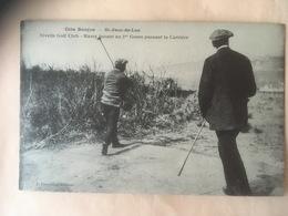 CPA Ciboure Golf La Nivelle Massy - Ciboure