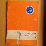 Old Brochure TOMOS KRMNI MOTOR Navodilo Za Uporabu Tovarna Motornih Vozil Koper Slovenia Jugoslavija - Bücher, Zeitschriften, Comics
