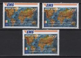 Ivory Coast (2019) - Set -  /  EMS - Joint Issue - Emissioni Congiunte