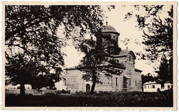 ROUMANIE / ROMANIA : CURTEA DE ARGES : BISERICA DOMNEASCA - VRAIE PHOTO / REAL PHOTO POSTCARD ~ 1935 (ae714) - Roumanie