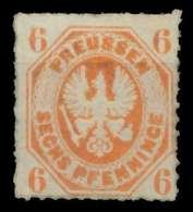 PREUSSEN Nr 15a Ungebraucht X86D842 - Prusse