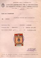 Marca CONSIGLIO PROVINCIALE DELLE CORPORAZIONI MARCA DA LIRE 1 - 1900-44 Vittorio Emanuele III