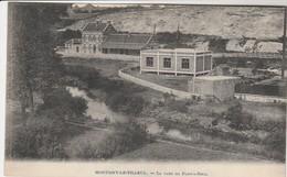 Montigny Le Tilleul , La Gare De Pont - A - Nole ;( Station , Statie ) - Montigny-le-Tilleul