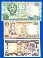 Chypre  3   Billets - Malawi