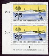 BK7- 414  DDR 1960  Mi.# 771 DV **postfrisch ( Cat.€25.50 ) - Ungebraucht