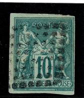 Lot 168  Colonies Generales YT 32 REUNION - France (ex-colonies & Protectorats)