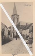 Gesves , PHOTOCARTE UNIQUE , La Rue De L'église - Gesves