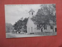 Wesleyan Methodist Church  Hague On   Lake George New York > >   Ref 4055 - Lake George