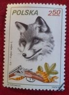 Renard (Animaux) - Pologne - 1981 - Oblitérés