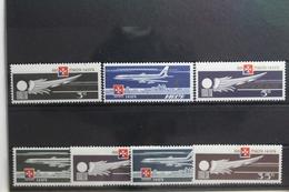 Malta 486-496 ** Postfrisch #TE662 - Vliegtuigen