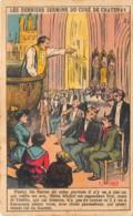 "HAUTS DE SEINE  92  CHATENAY MALABRY -  CARTE DESSINEE HUMORISTIQUE ""LES DERNIERS SERMONS DU CURE"" - Chatenay Malabry"