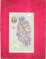 DEPT 55 - Les Départements - MEUSE - PUB Edition De La Chocolaterie D'AIGUEBELLE - 130520 - - Autres Communes