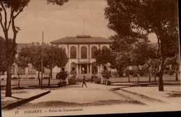 CONAKRY...PALAIS DU GOUVERNEMENT...CPA ANIMEE - Französisch-Guinea