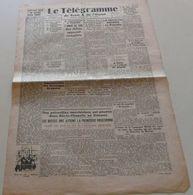 Le Télégramme De Brest Et De L'Ouest Du 13 Oct 1944.(fusiliers Marins-Tino.Rossi) - Revues & Journaux