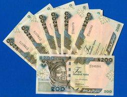 Nigeria  10  Billets  Neuf  Suite  200 Niara - Nigeria
