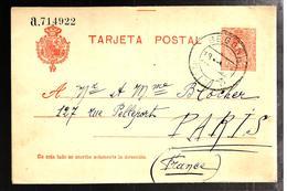 31914 - Entier  Pour La France - Interi Postali