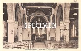 Kerkbinnenzicht - Rollegem-Kapelle - Ledegem