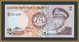 Lesotho 2 Maloti 1979 P-1 (1a) UNC - Lesotho