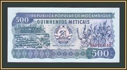 Mozambique 500 Meticais 1989 P-131 (131c) UNC - Mozambique