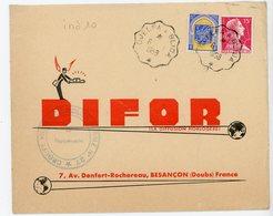 ALGERIE ENV 1958 DJELFA A BLIDA CONVOYEUR DE LIGNE COTE 70 EUROS INDICE 10 - Brieven En Documenten