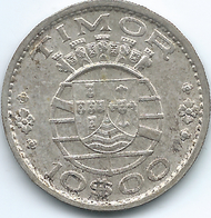 Timor - Portuguese - 1964 - 10 Escudos - KM16 - Timor