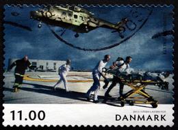 Denmark 2012  Norden   MiNr.1698 ( Lot  L 2378 )Helikoptere - Gebraucht