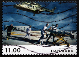 Denmark 2012  Norden   MiNr.1698 ( Lot  L 2382 )Helikoptere - Gebraucht