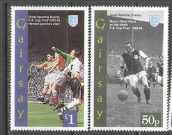 M0709 ✅ Sports UEFA Football European Championship 1994 Gairsay 2v MNH ** 1,5£ - Eurocopa (UEFA)